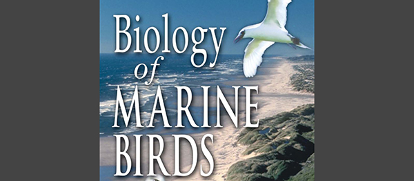 "Book cover ""Biology of Marine Birds"""